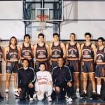 Il roster della Polisportiva nella stagione 93-94, primo anno di B1