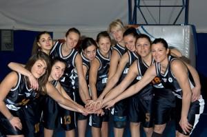 La Polisportiva Femminile vincitrice del campionato di B regionale, stagione 2008-2009