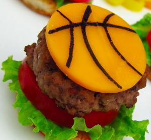 Basket e cibo