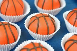 Basket cupcake