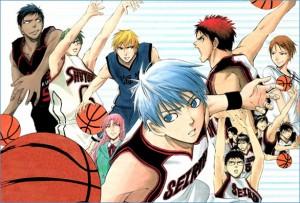 Il manga giapponese Kuroko's Basket