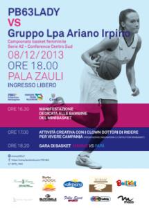 PB63LADY vs Lpa Ariano Irpino