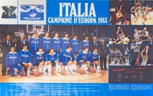 Italia campione d'Europa 1983