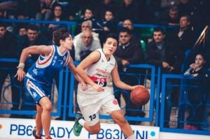 Francesca Russo in azione contro Catania