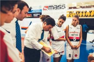 timeout coach Massimo Riga