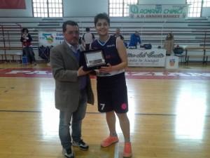 Lucia Di Cunzolo premiata per il primo posto alle Finali Interzonali di quest'anno