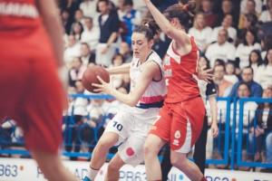 Elena Riccardi in azione contro Vigarano