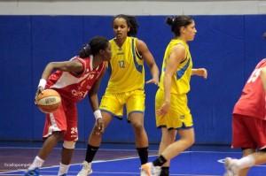 Monique Ngo Ndjock ai tempi di Ancona