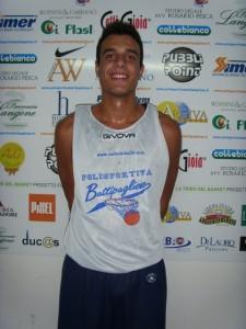 Luca Fabiano ai tempi della serie C1 disputata con Battipaglia