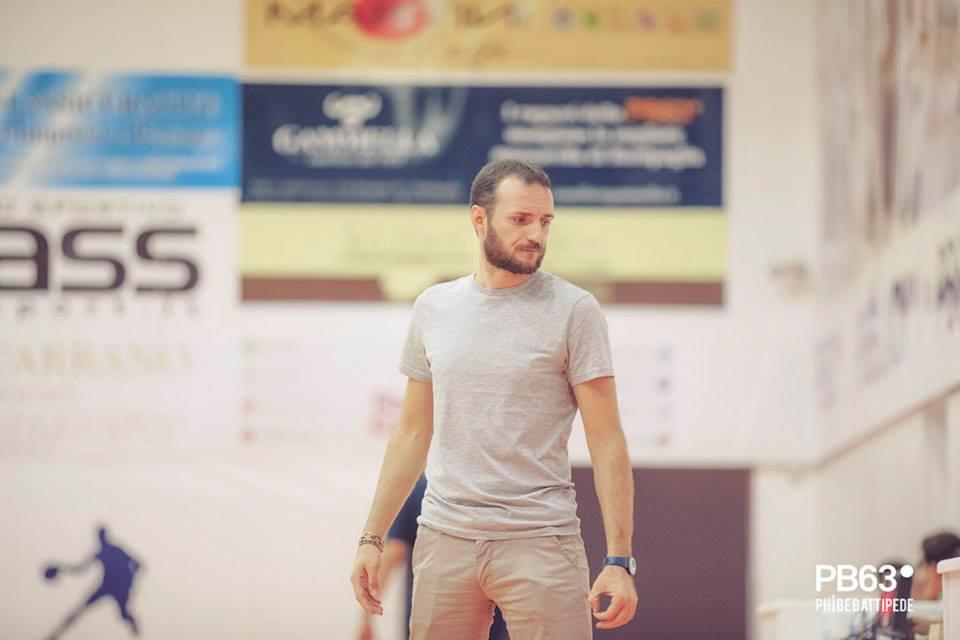 Daniele Serrelli coach dell'under 16