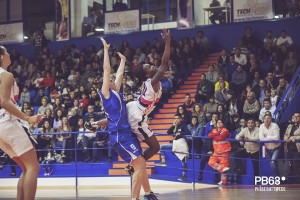 Brooque Williams in azione contro Trieste