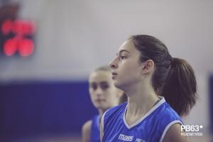 Chiara Santoro dell'under 15 Lady