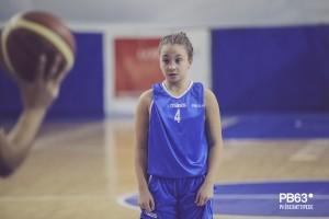 Clara Mannina dell'under 13