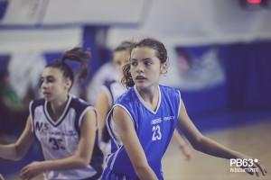 Eliana Gioia dell'under 15 Lady