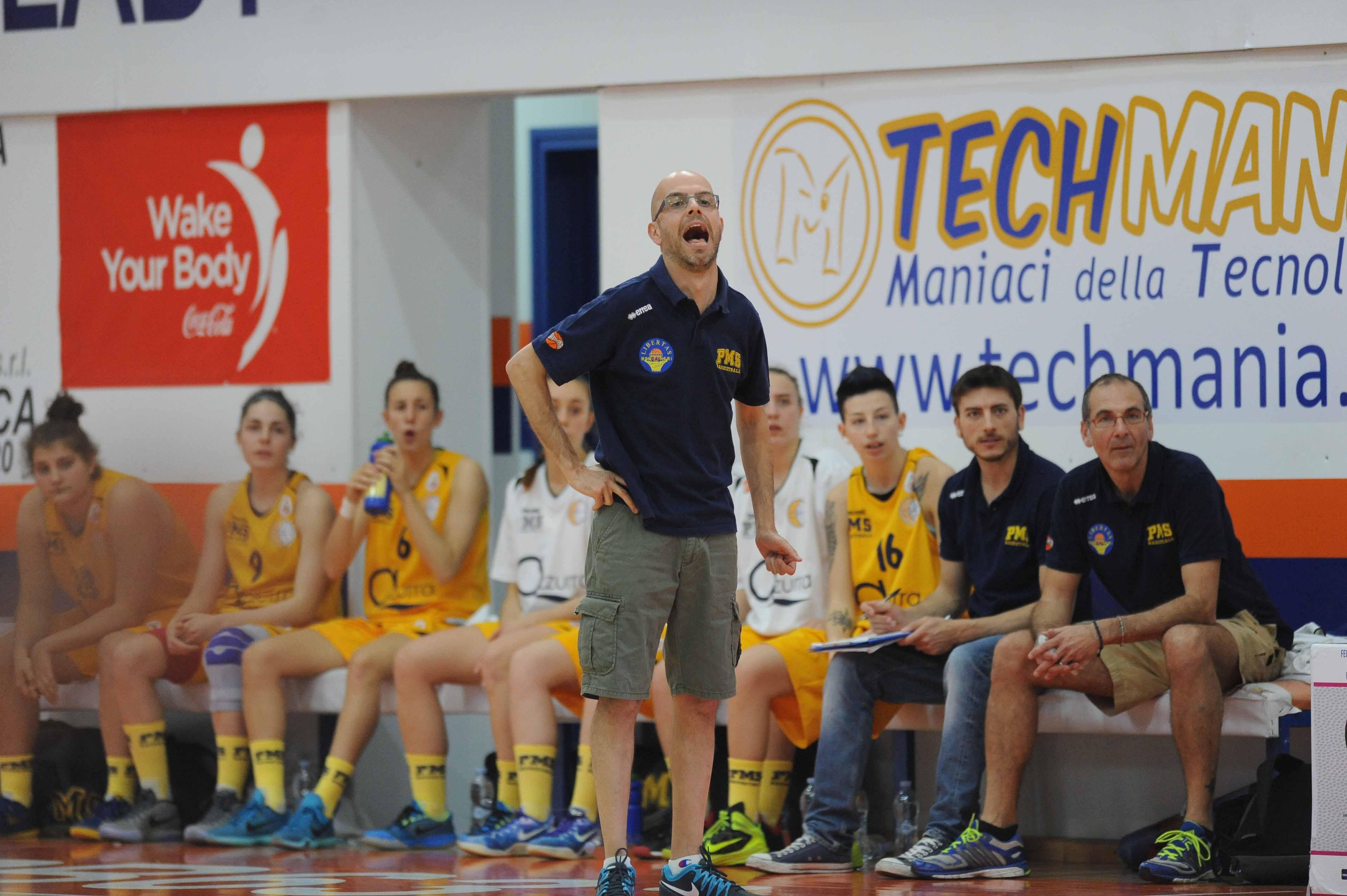 coach Spanu di Moncalieri