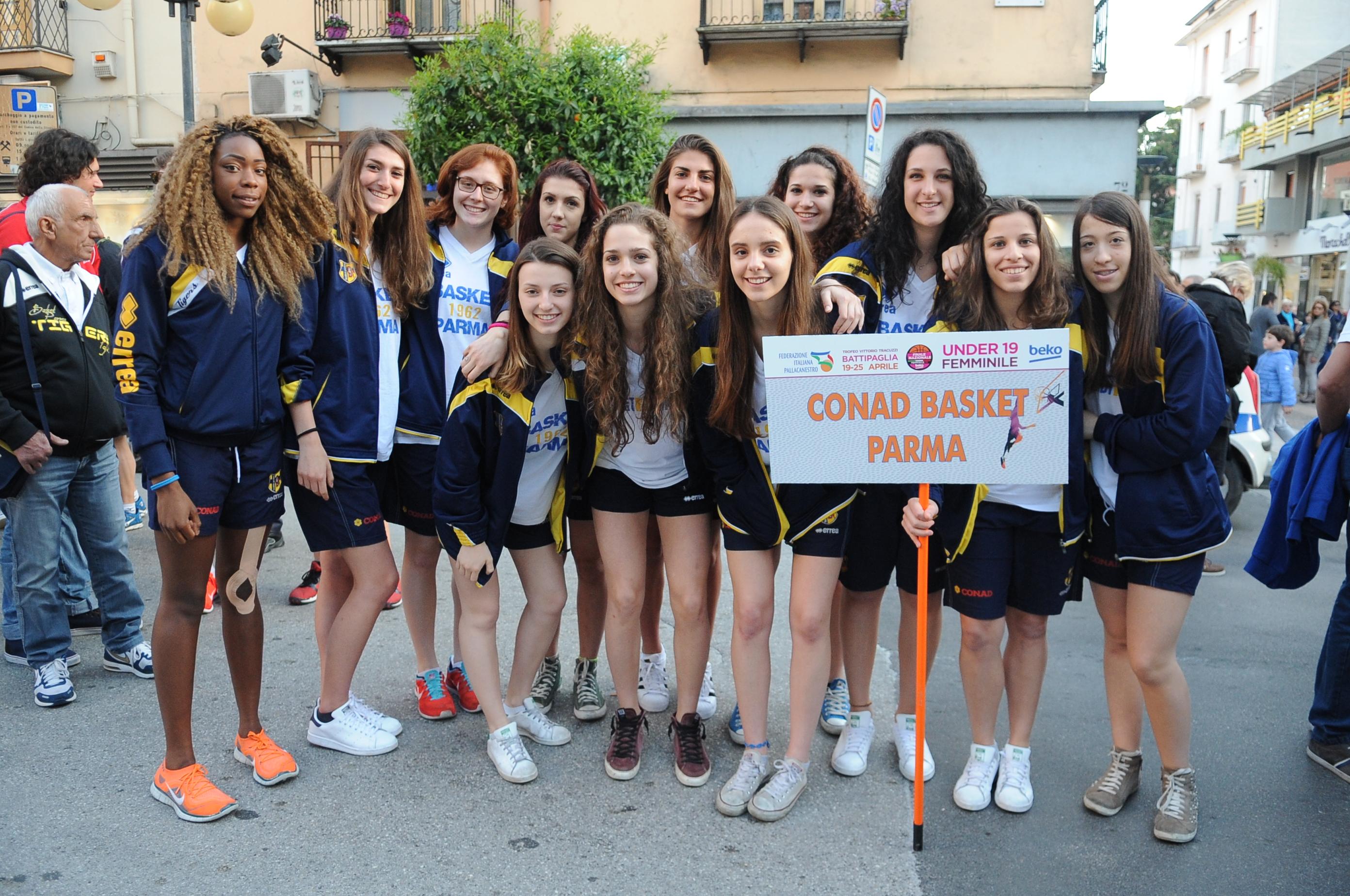 Basket Parma