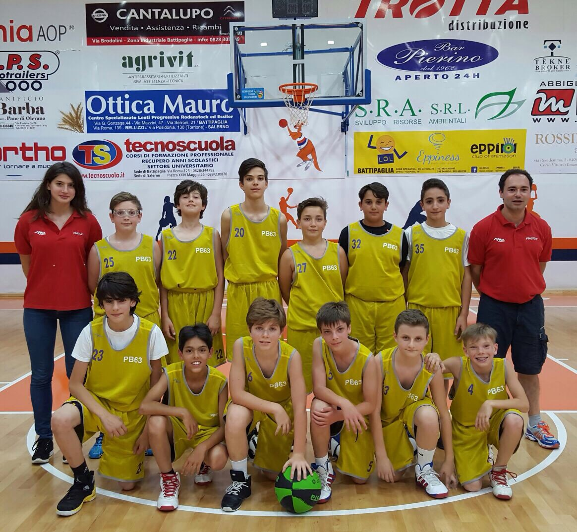 l'under 13 di coach Dragonetto