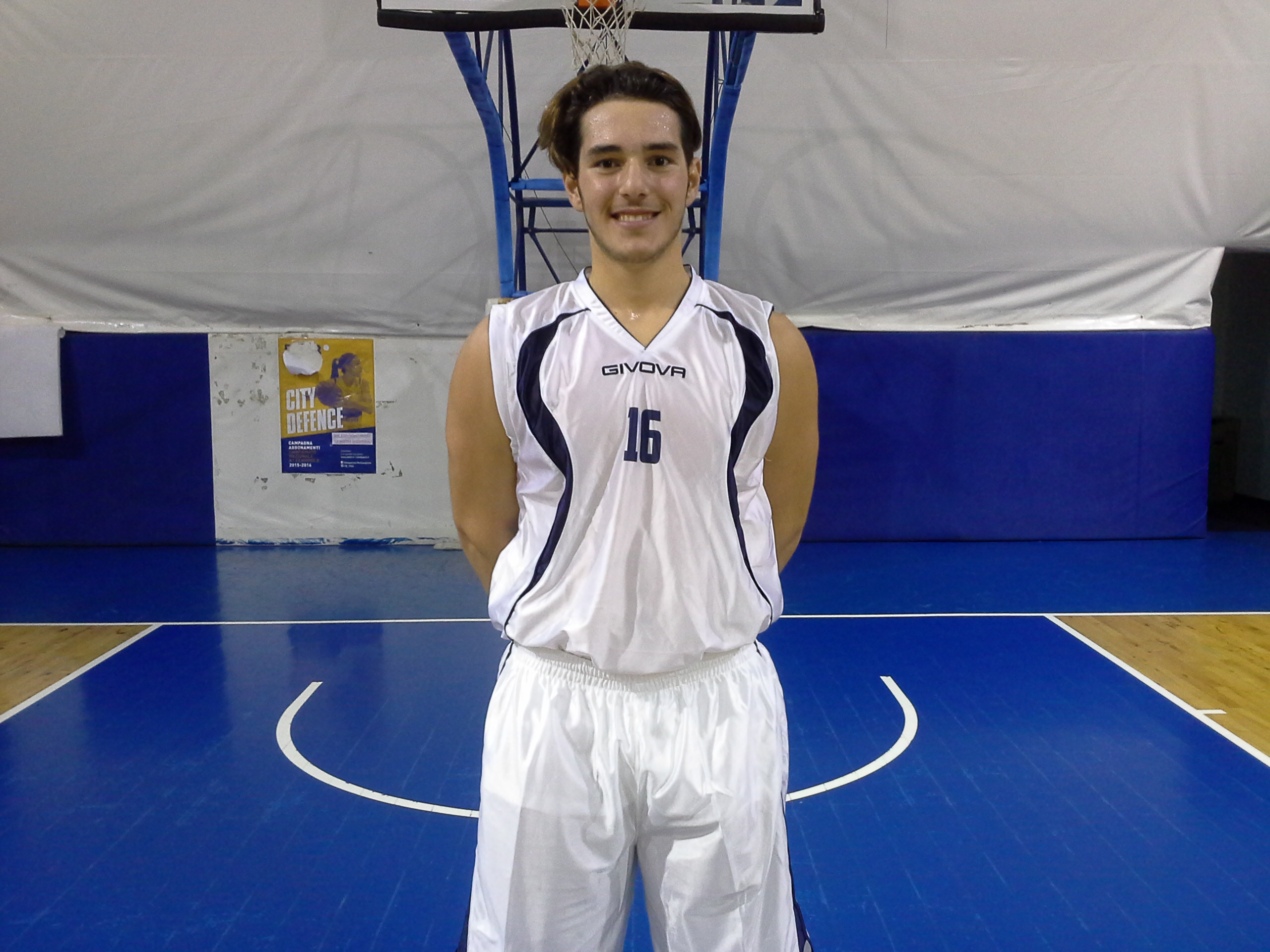 Niccolò Volpe dell'under 18 Regionale