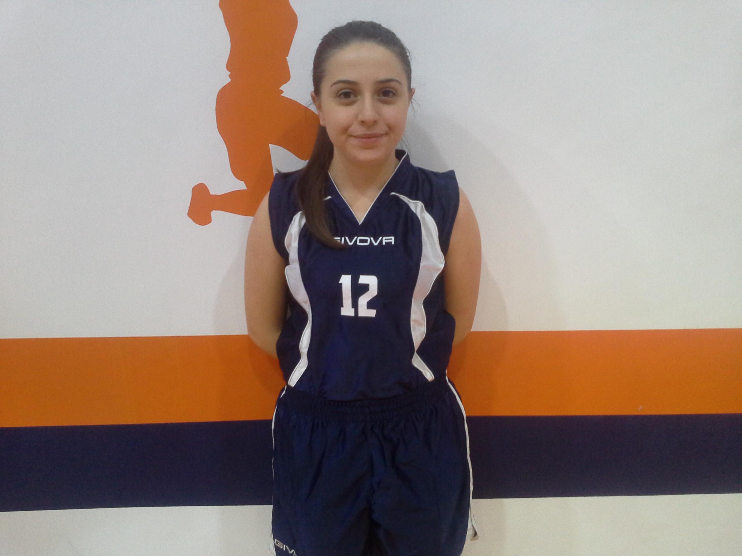Simona Parrilli dell'under 20 B