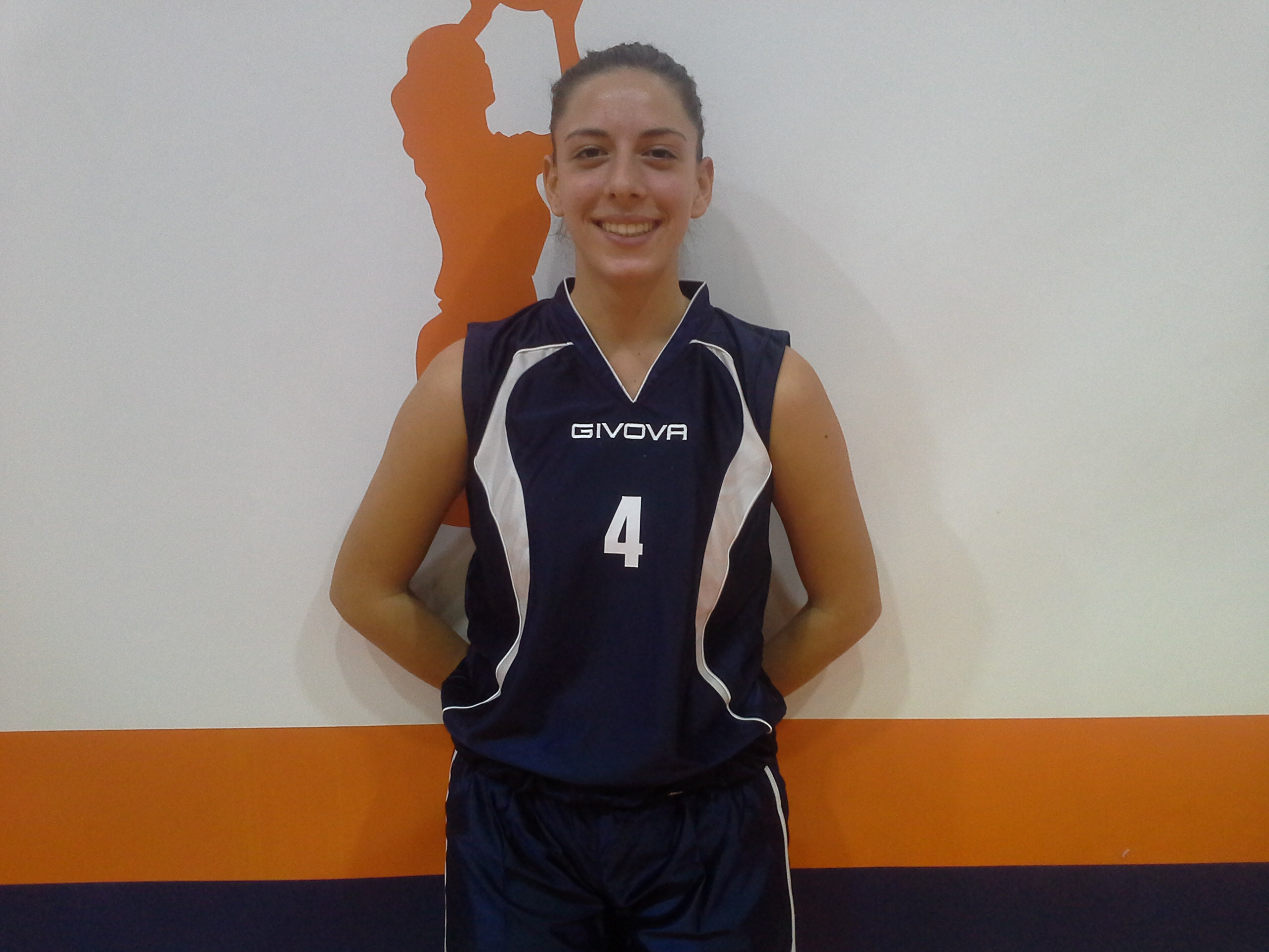 Valentina Guadagno dell'under 20 B