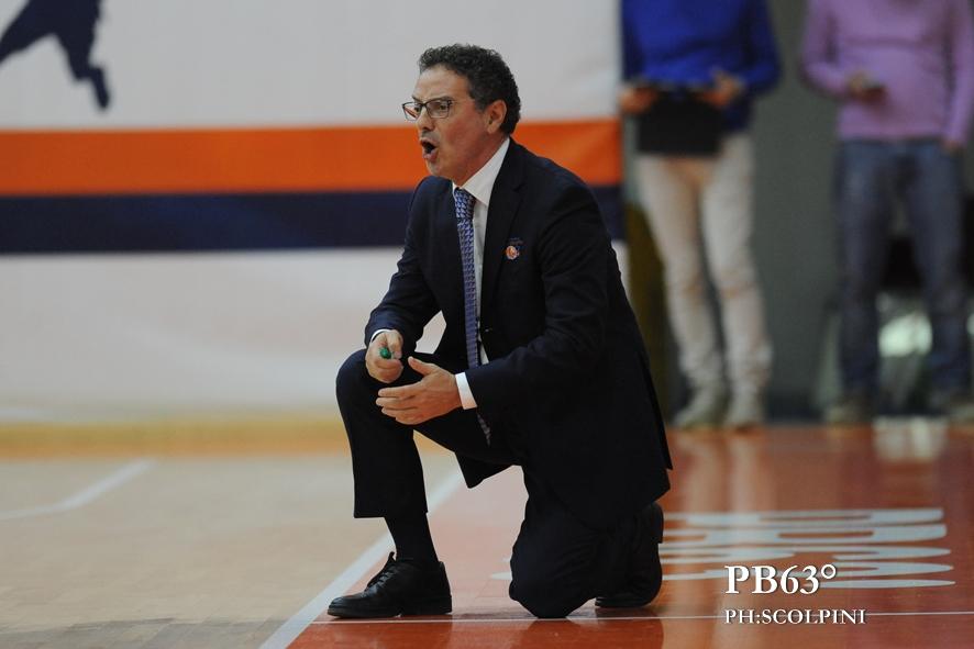 Massimo Riga coach delle Lady