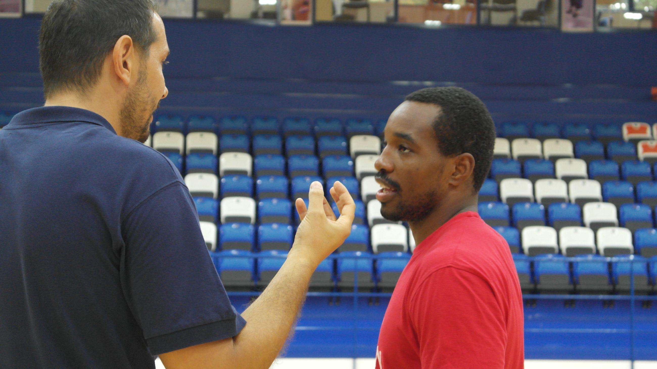 coach Menduto con Wilson