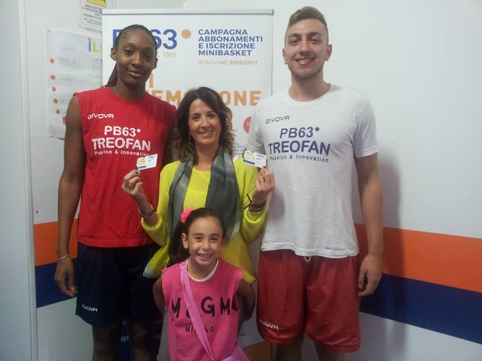 Andrè e Pagano con la vincitrice Marta Ceravolo